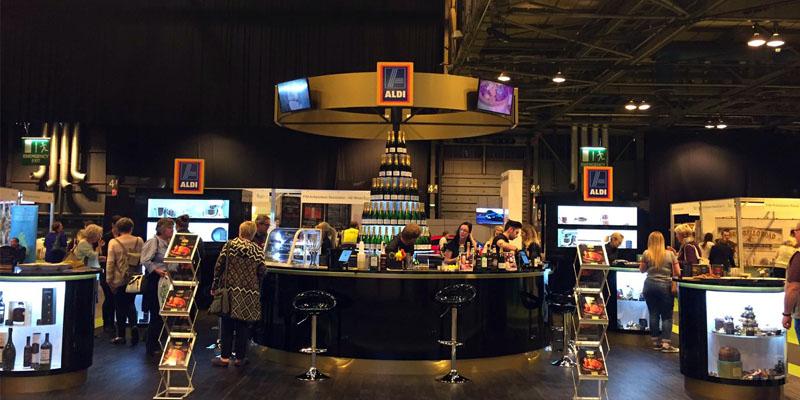 Aldi exhibition stand