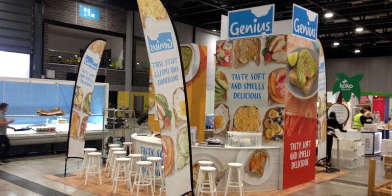genius exhibition stand
