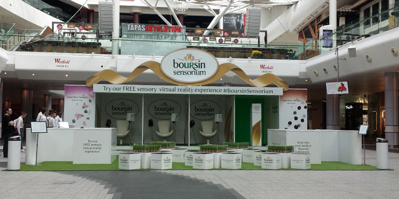 boursin vr experiential stand at westfield