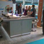 british gas exhibition stand in action