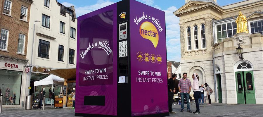 Nectar vending machine