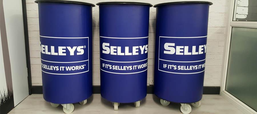 round sampling bins