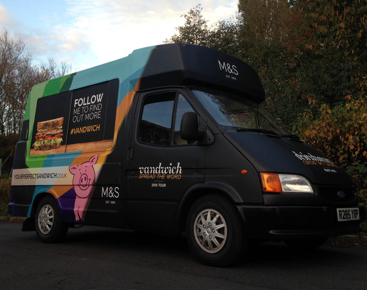 branded ice cream vans for hire