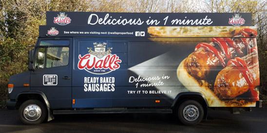 walls truck case study