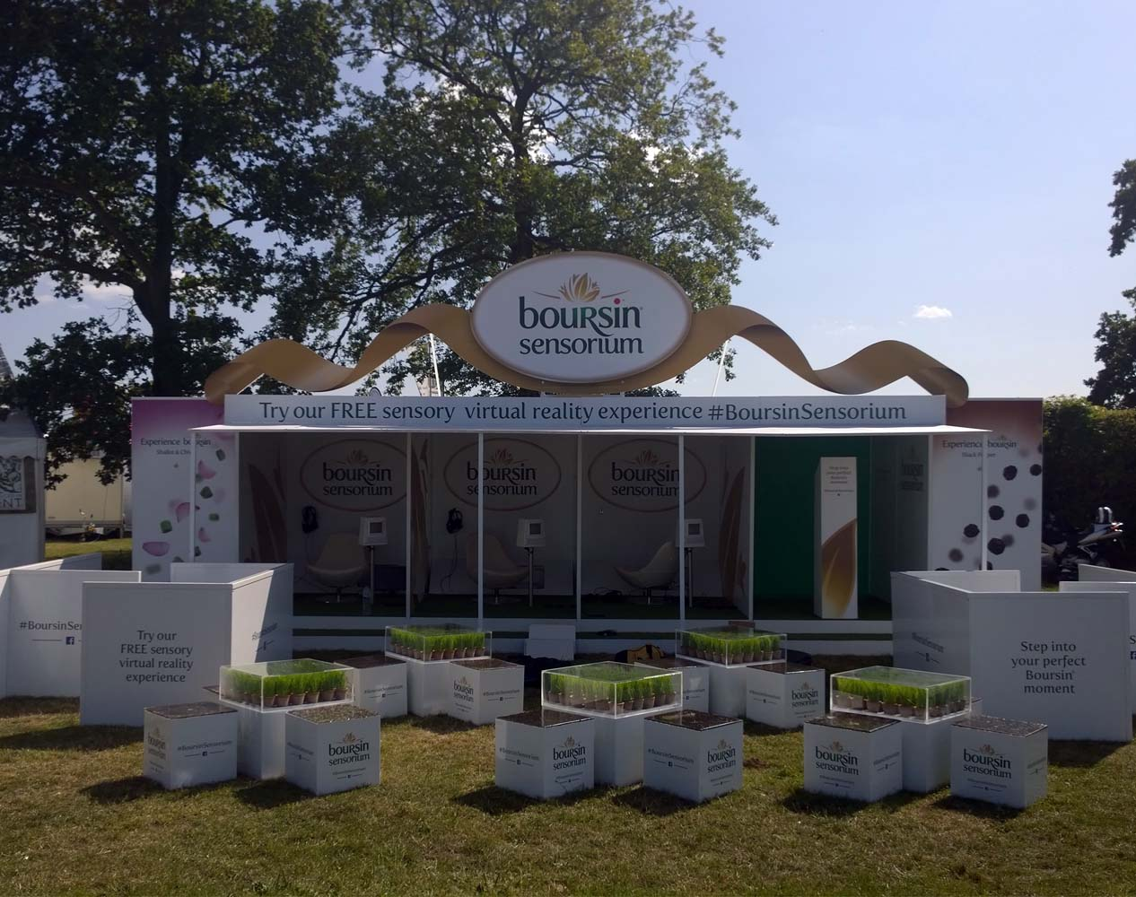Boursin VR experiential brand experience