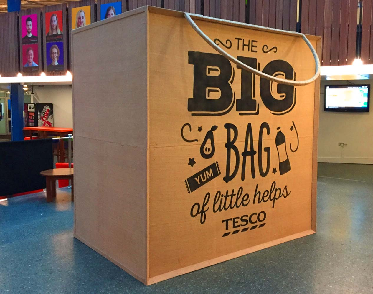 tesco giant shopping bag